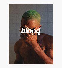 Frank Ocean - Blond Photographic Print