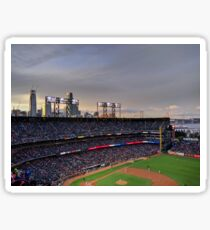 San Francisco Giants at twilight Sticker