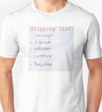 Shipping list  T-Shirt
