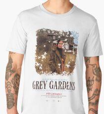 Grey Gardens / distressed  Little Edie print Men's Premium T-Shirt