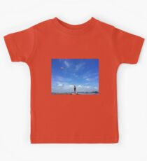 Seagull Flying over the Lighthouse Kids Clothes
