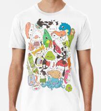 Sushi Bar: Der Punkt von Nori-Turn Premium T-Shirt
