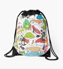 Sushi Bar: The point of Nori-turn Drawstring Bag