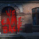 Sinister Grin Press - We Came Back by SinisterGrinPre
