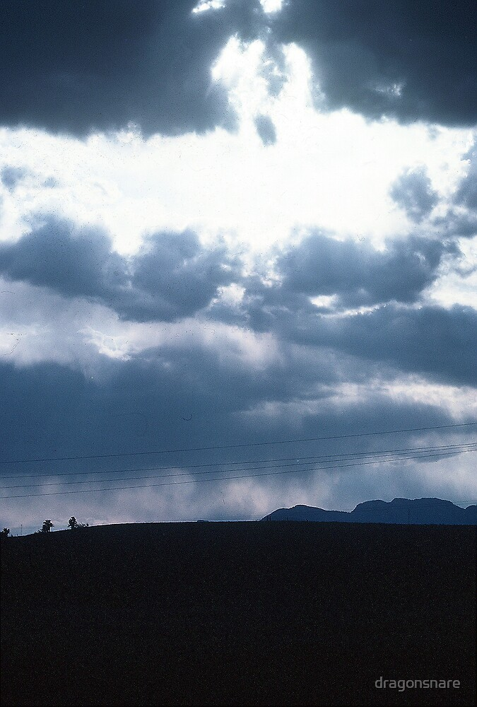 Arizona Monsoon Clouds by dragonsnare