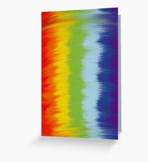 Can't erase the rainbow Greeting Card