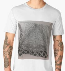 Zentangle 46 Men's Premium T-Shirt
