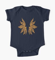 Golden Angel Icarus Wings Kids Clothes