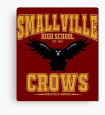Smallville Crows Canvas Print