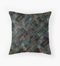 Colored streaks  Throw Pillow