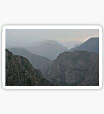 Colorado Black Canyon of the Gunnison Sticker