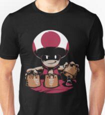 mario  jugable  Mario, Luigi y Peach T-Shirt
