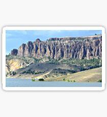 The Pinnacles in Colorado Sticker
