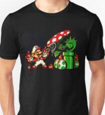super marios vs alien  T-Shirt
