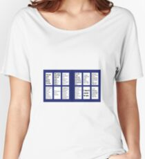 Doctor Who - The Final Words Women's Relaxed Fit T-Shirt