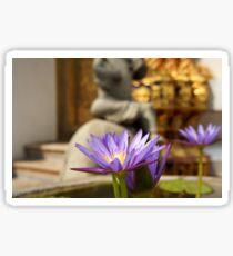 Bangkok Flower Sticker