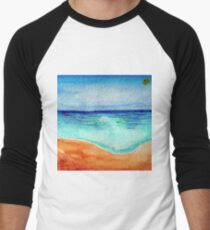 Serene Watercolor Shoreline T-Shirt