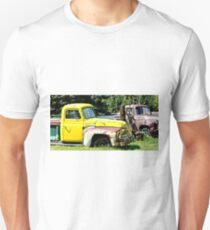 Old Yellow Farm Truck T-Shirt