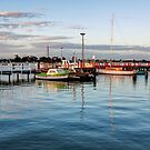 Early Evening at Port Albert by Christine Smith