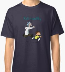 Rick and Morty / Calvin and Hobbes Classic T-Shirt