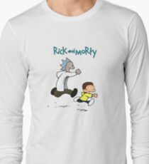 Rick and Morty / Calvin and Hobbes T-Shirt