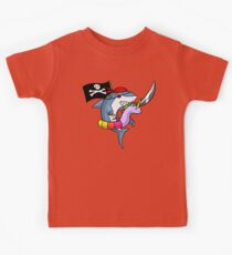 Unicorn Float Funny Shark Pirate Party Cartoon Pool Kids Clothes