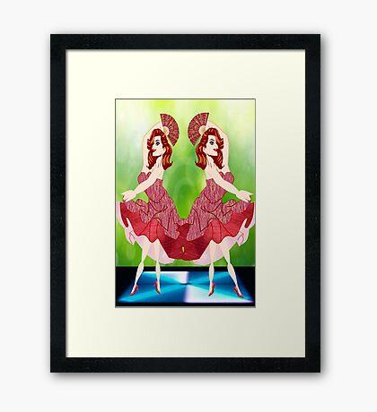 Lets Dance(4698 Views) Framed Print