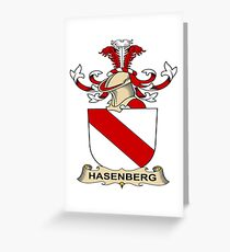 Hasenberg Greeting Card
