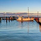 Evening Light at Port Albert, Victoria by Christine Smith