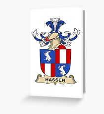 Hassen Greeting Card
