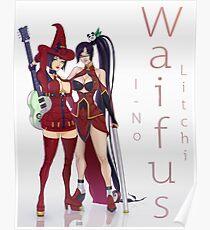 I-No and Litchi Poster