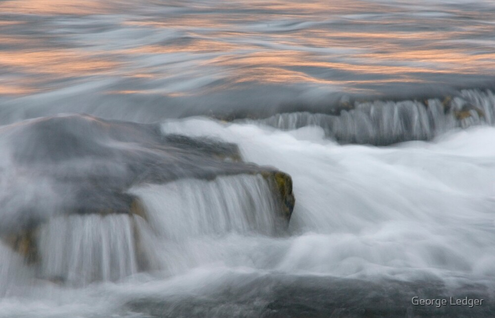 Sunrise, Water and movement by George Ledger