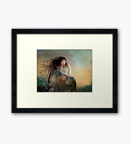 Feel Again Framed Print