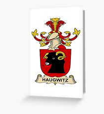 Haugwitz Greeting Card