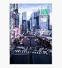 Japan - Shinjuku Rush Hour Photographic Print