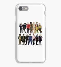 The 14 Doctors iPhone Case/Skin
