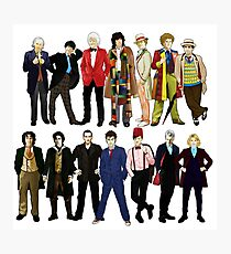 The 14 Doctors Photographic Print