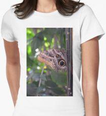 Beautiful brown butterfly in the garden  T-Shirt