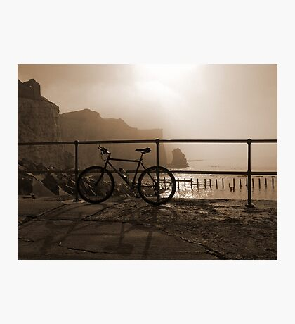 Bicycle Point Photographic Print