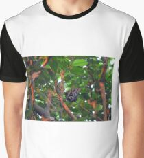 Beautiful butterfly sitting in a tree  Graphic T-Shirt
