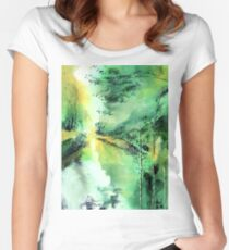 Into The Green Women's Fitted Scoop T-Shirt