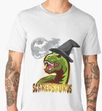Scareosaurus Halloween Dinosaur Men's Premium T-Shirt
