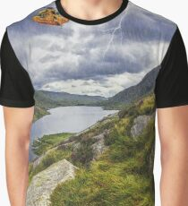 Snowdonia Mountain Resuce Graphic T-Shirt