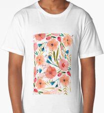 Floral Dance Long T-Shirt