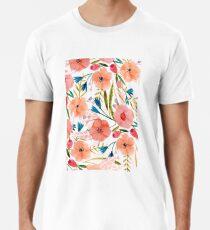 Floral Dance Men's Premium T-Shirt