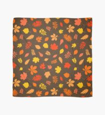 Pattern of autumn colorful leaves Scarf