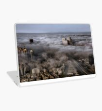 City Skyscrapers Above The Clouds Laptop Skin