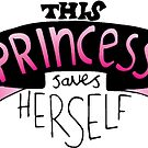 This Princess Saves Herself by JodieChristine