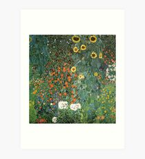 Gustav Klimt - The Sunflower Art Print
