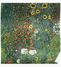 Gustav Klimt - The Sunflower Poster